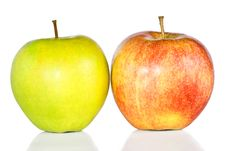 Free Green And Red Apples Royalty Free Stock Images - 18967039