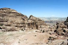Free Monastery In Petra, Jordan Royalty Free Stock Photo - 18967115
