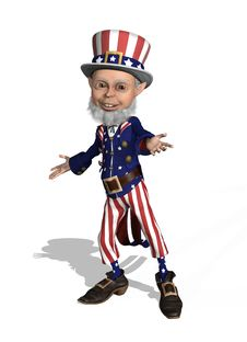 Uncle Sam Welcomes You Royalty Free Stock Photos