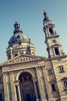 Free St. Stephen Basilica, Budapest Royalty Free Stock Photography - 18967667