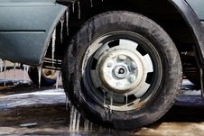 Free Wheel   Car  Rubber Stock Photo - 18967970