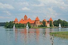 Free Trakai Castle Stock Photo - 18968370