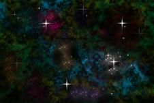 Free Colored Nebula Sparkle Stock Images - 18968434