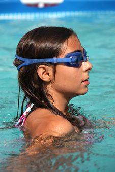 Free Girl In Pool Royalty Free Stock Photo - 18968995