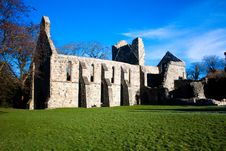 Free Gray Abbey Ruins Royalty Free Stock Photo - 18969075