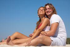 Free Couple At The Beach Stock Photos - 18969533