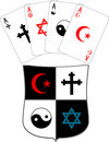 Free Shield And Religious Aces Stock Photos - 18971993