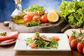 Free Sliced Tuna Steak Stock Images - 18975414