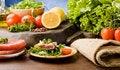 Free Sliced Tuna Steak Stock Image - 18975431