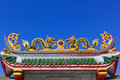 Free Asian Temple Dragon Royalty Free Stock Images - 18979919