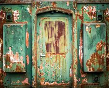 Free Rusty Entrance Stock Photo - 18970170