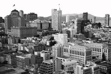 Free Downtown San Francisco Stock Image - 18970931
