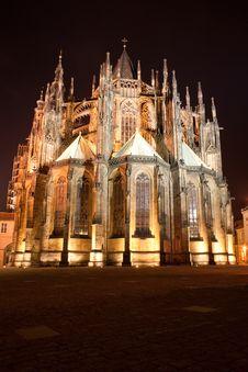 Saint Vitus Cathedral Royalty Free Stock Photos
