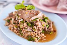 Free Larb Thai Style Food Royalty Free Stock Photos - 18971438