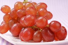 Red Sultana Grape Royalty Free Stock Photo