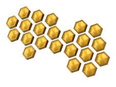 Free Honeycomb Royalty Free Stock Image - 18971546