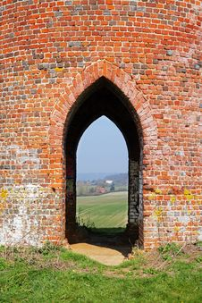 Free Looking Through An Arch Of A Folly Stock Photography - 18971772
