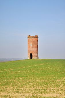 Free Circular Folly In An English Field Stock Photos - 18971823