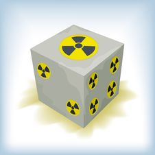 Free Nuclear Dice Stock Photo - 18972110