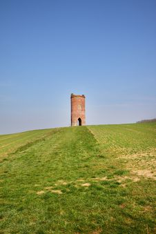 Free Circular Folly In An English Field Royalty Free Stock Image - 18972146