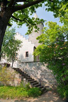 Free Courtyard Of The Castle Leuchtenburg Stock Photography - 18972192