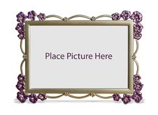 Free Flower Picture Frame Stock Images - 18972454
