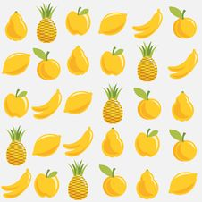 Free Fruit Pattern Stock Image - 18972751
