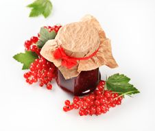 Free Red Currant Preserve Stock Image - 18972771