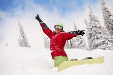 Free Snowboarder Royalty Free Stock Image - 18972866