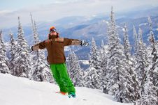 Free Snowboarder Stock Photography - 18972892