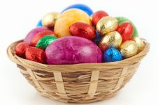 Free Easter Nest Royalty Free Stock Image - 18972916