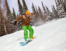 Free Snowboarder Royalty Free Stock Photography - 18972957