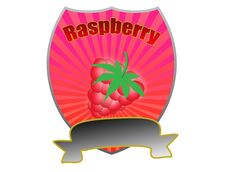 Free Raspberry Label Stock Photo - 18973210