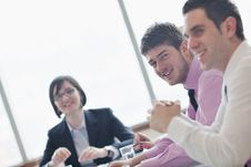 Free Group Of Business People At Meeting Stock Photo - 18973280