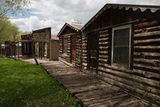 Free Ghost Town Royalty Free Stock Photos - 18973608