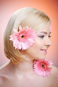 Free Beautiful Young Woman With Fashion Make-up Stock Photo - 18973750