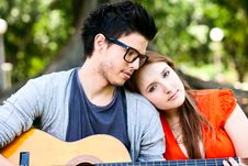 Free Summer Love Stock Photography - 18974672