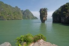 Free Koh Tabu, Or James Bond Island. Stock Image - 18975051