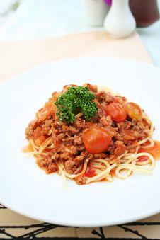 Free Spaghetti Stock Image - 18975191