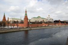 Free Moscow Kremlin Royalty Free Stock Photos - 18975428