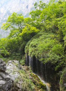 Free Landscape Of Yuntai Mountain Stock Images - 18975674