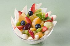 Free Fruit Salad Royalty Free Stock Image - 18975876