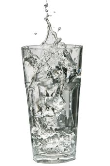 Free Water Splashing Out Of A Glass Stock Photo - 18975900