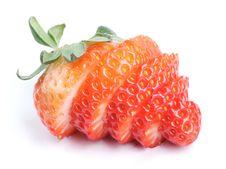 Free Cut Strawberry Stock Photography - 18976142