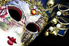 Free Venetian Mask. Stock Images - 18976674