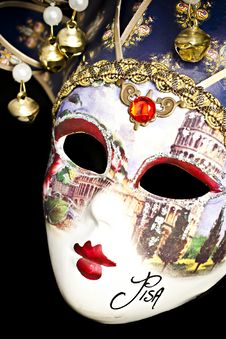 Free Venetian Mask. Stock Photography - 18976682