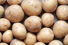 Free Raw Potatoes Royalty Free Stock Photography - 18976887
