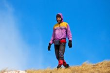 Free Sport Hiking In Mountains Royalty Free Stock Image - 18976926
