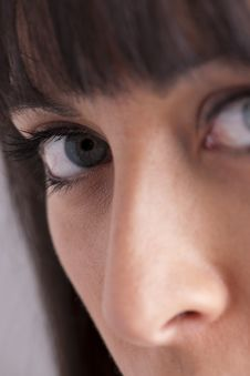 Free Close-up Of Young Woman Face Stock Photos - 18977143