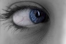 Free Close-up Of Woman Eye Royalty Free Stock Photography - 18977297